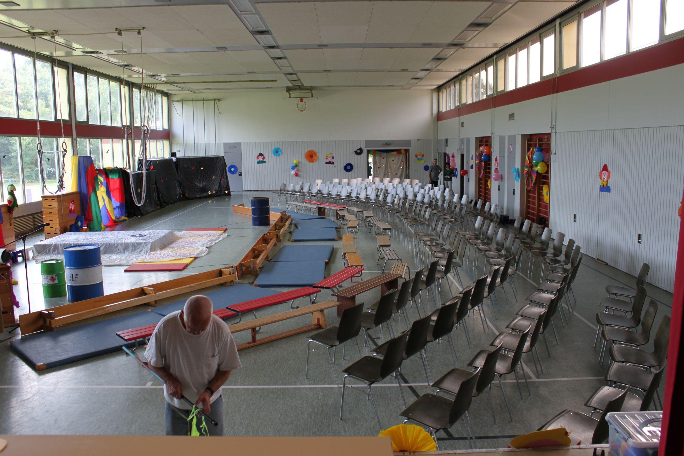 Rheinauen grundschule sasbach theater ag homepage for Zirkus dekoration