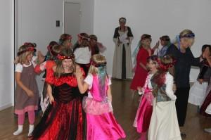 Tanz Bürgfräuleins