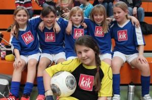 Hallenfußball Mädchen 13.03.2015