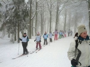 Langlaufskifahren